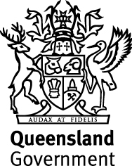 Qld Gov logo stacked