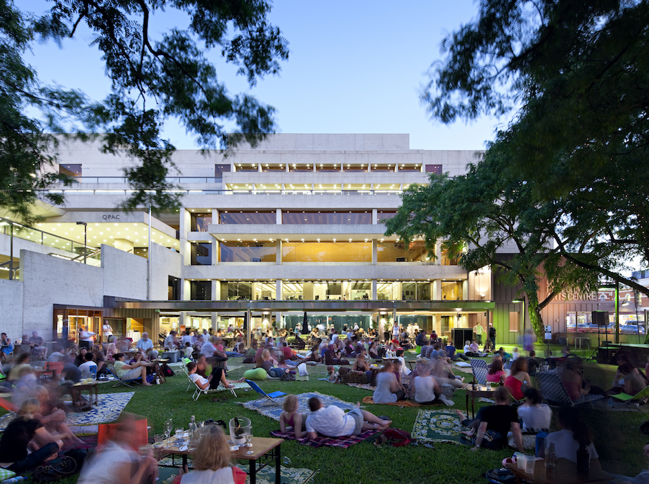 QPAC Melbourne St green