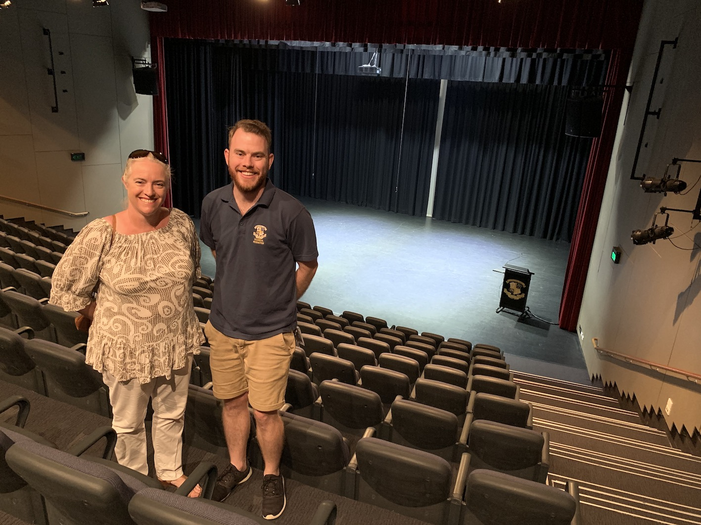 Stage Queensland visits Marist College Ashgrove